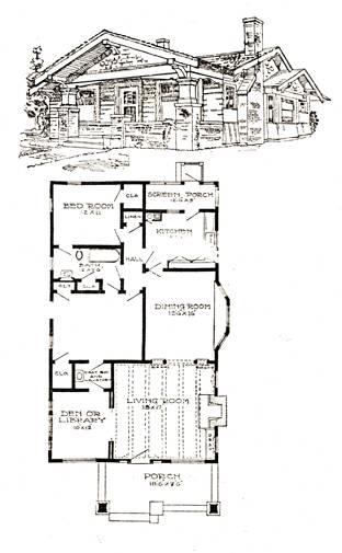 5 Dec2006 Clip Image018 A Typical Bungalow Floor Plan